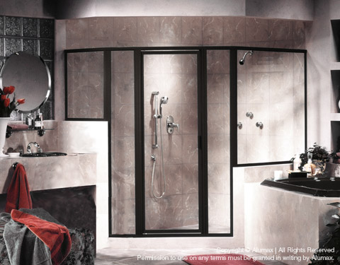 StikStall Shower Door Models