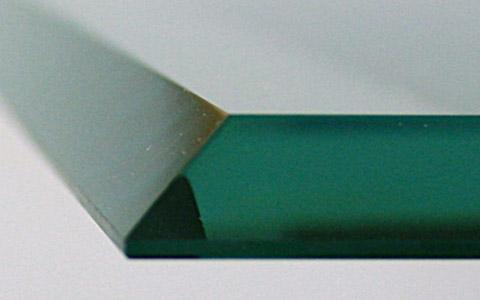 Glass Edgework Fabrication Bevel Flat Polish Pencil