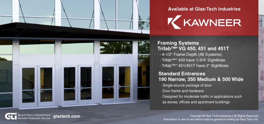 Kawneer Commercial Framing and Entrance Systems
