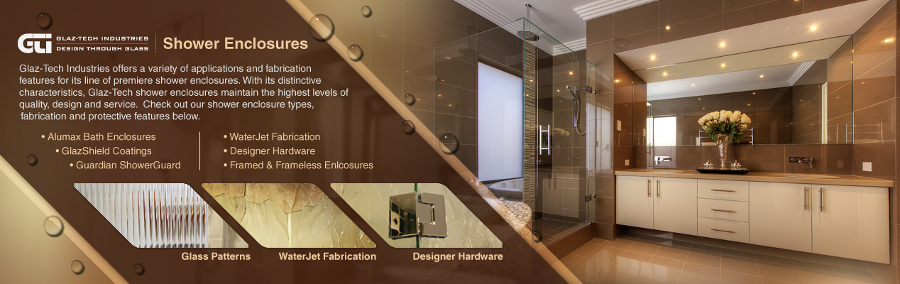 Glaz Tech Shower Enclosures and Shower Doors