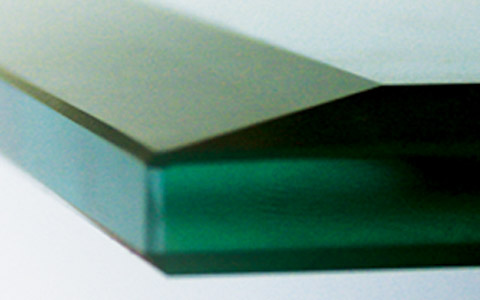 Glass Edgework Fabrication Bevel Flat Polish Pencil