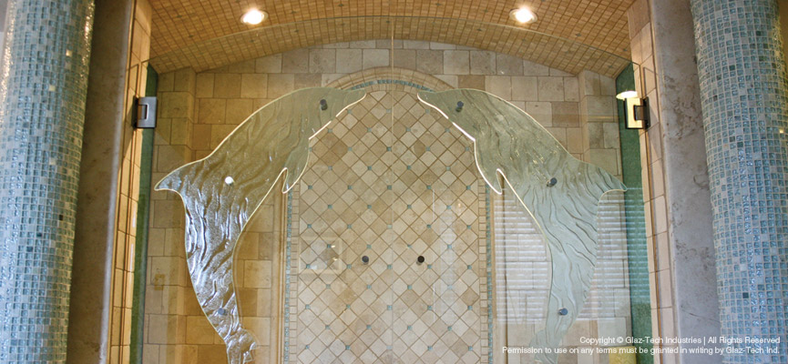 Infinite Dimensions | Custom Shaped Handles and Shower