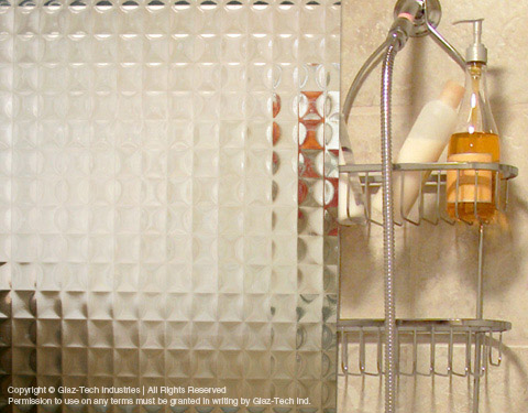 Glass Patterns For Shower Doors And Shower Enclosures